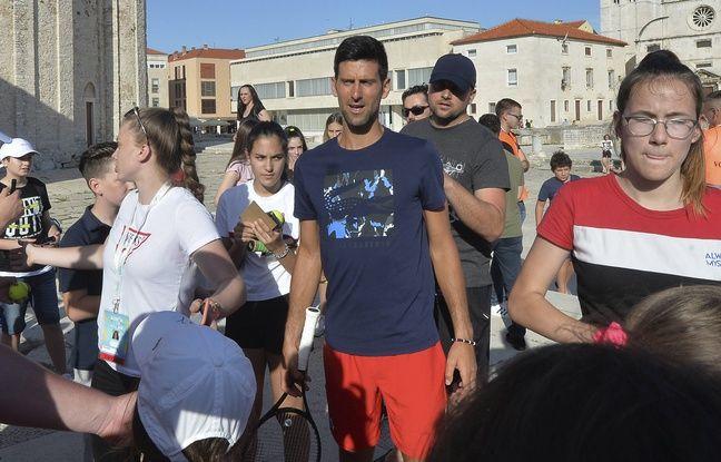 Coronavirus: Novak Djokovic donne 40.000 euros à une ville serbe durement touchée par le Covid-19