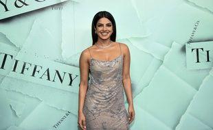 L'actrice Priyanka Chopra à New York.