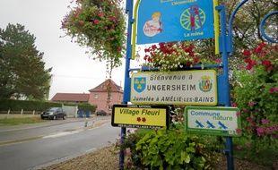 Entrée du village en transition d'Ungersheim.