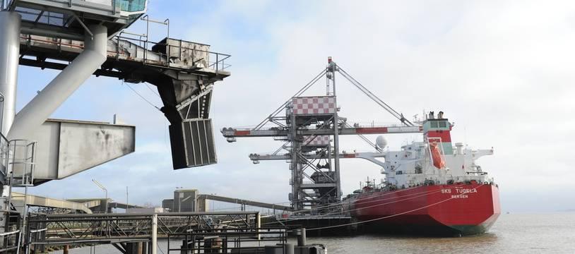 Le port de Nantes Saint-Nazaire, ici à Montoir-de-Bretagne.