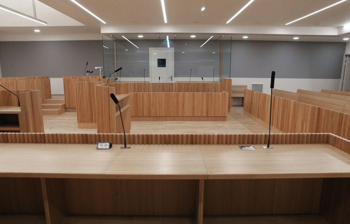Strasbourg le 20 janvier 2017. le nouveau Palais de justice. – G. Varela / 20 Minutes