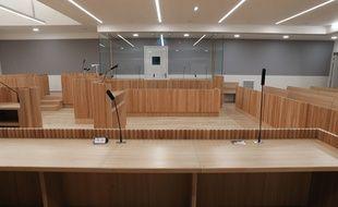 Strasbourg le 20 janvier 2017. le nouveau Palais de justice.