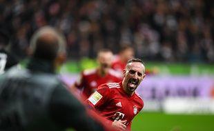 Franck Ribéry arrive en fin de contrat avec le Bayern.