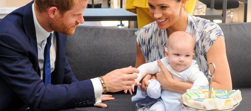 Le prince Harry, Meghan, duchesse de Sussex et leur fils, Archie