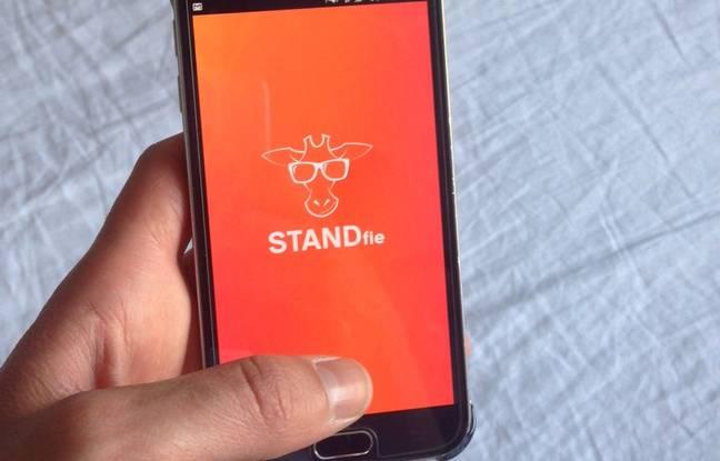Application Standfie, pour se prendre en selfie de plein pied.