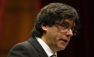 Carles Puigdemont le 10 janvier 2016.