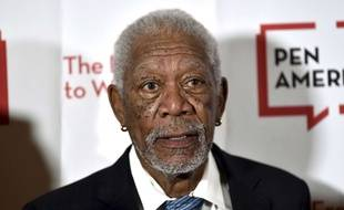 L'acteur Morgan Freeman le 22 mai 2018.