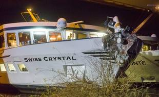Le Swiss Crystal transportait 129 personnes à son bord.