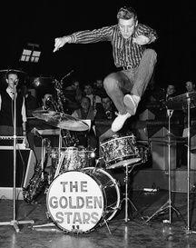Johnny Hallyday à l'Olympia en 1962.