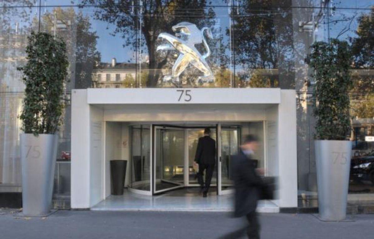 Le constructeur automobile PSA Peugeot Citroën, mis en difficulté sur le marché européen, va supprimer plusieurs milliers de postes en Europe, au moment même où il annonce de nouveaux investissements au Brésil. – Eric Piermont afp.com