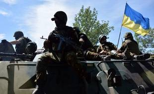 Les forces ukrainiennes ont repris aux séparatistes Lyssytchansk, dans l'est du pays.