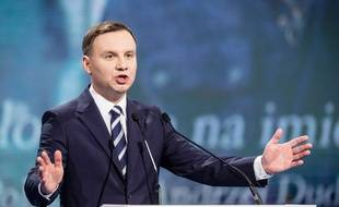 Andrzej Duda, le 7 février 2015, à Varsovie.
