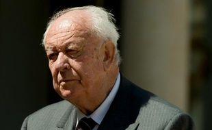 Le maire Les Républicains de Marseille Jean-Claude Gaudin.