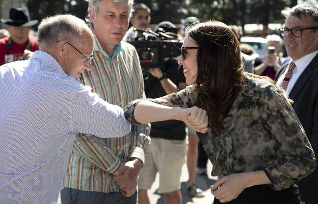 La Première ministre néo-zélandaise Jacinda Ardern en campagne pour les élections législatives à Christchurch, Nouvelle-Zélande, le 24 septembre 2020. Lundi 5 octobre, elle a assuré que son pays avait