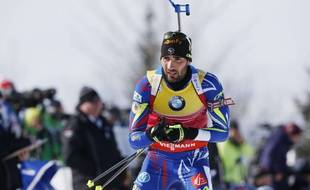 Martin Fourcade le sait, il sera favori dans toutes les courses où il se présentera, lors des Mondiaux d'Oslo 2016.