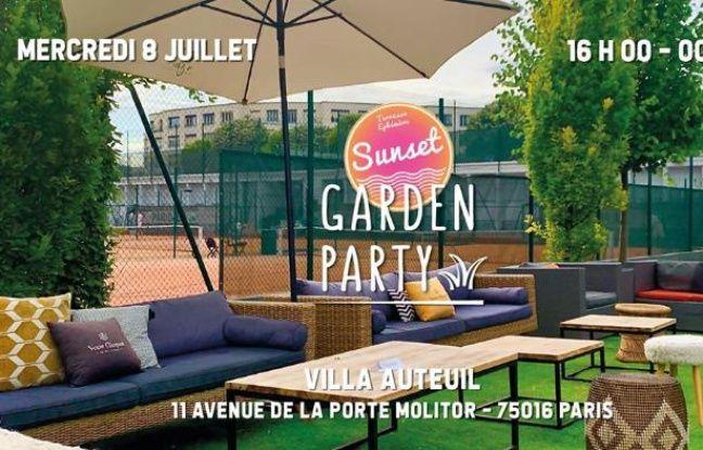 La Sunsette Croisette s'installe dans le tennis club de la Villa Auteuil en 2020