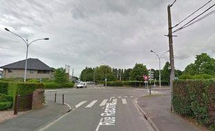 La rue Racine à Wattrelos près de Lille, dans le Nord.