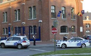 L'hôtel de police de Charleroi (Belgique), près duquel deux policières belges ont été attaquées à la machette le 6 août 2016.