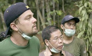 Leonardo DiCaprio dans le documentaire «Avant le déluge» («Before the Flood»).