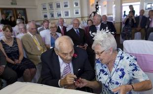 George Kirby, 103 ans, et Doreen Luckie, 91 ans.
