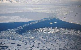 Le « permafrost », les sous-sols arctiques gelés, pourrait commencer à se dégeler d'ici 10 à 30 ans (photo d'illustration).