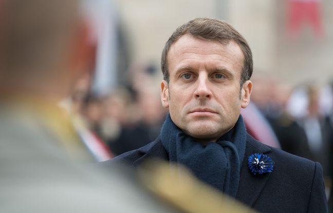Non, une visite d'Emmanuel Macron n'a pas été présentée à tort comme un bain de foule