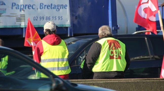 Rennes: Les routiers perturbent la circulation - 20minutes.fr