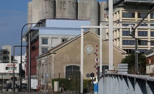 Le quartier Bacalan à Bordeaux garde les traces de son passé industriel du 19è.