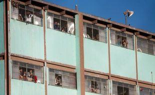 La prison Topo Chico à Monterrey au Mexique le 11 février 2016