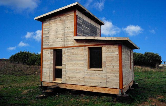 toulouse des logements d montables en palettes pour donner un toit ceux qui n 39 en ont pas. Black Bedroom Furniture Sets. Home Design Ideas