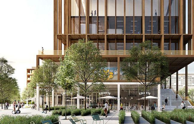 Le projet Talents maker Lab de la Compagnie de Phalsbourg à Genevilliers, est un concept autour de la formation professionnelle et de l'entrepreunariat, qui accueillera aussi restaurant et commerces.