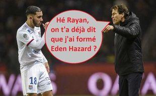 A Lyon, Rudi Garcia semble faire confiance à Rayan Cherki.