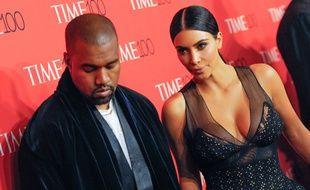 Kim Kardashian et Kanye West arpentaient au gala des 100 personnes les plus influentes d'après le magazine Time