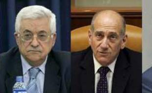 De gauche à droite : le président égyptien Hosni Moubarak, le président palestinien Mahmoud Abbas, le Premier ministre israélien Ehud Olmert et le roi de Jordanie Abdallah II