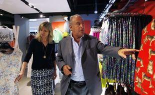 Philip Green, le patron du groupe Arcadia à Hong Kong, le 5 juin 2013.