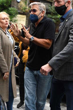 George Clooney, à Londres le 9 octobre.