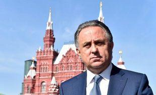 Le ministre russe des Sports Vitali Moutko, le 18 septembre 2015 sur la place rouge à Moscou