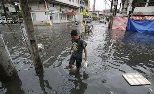 Des images des Philippines touchées par le typhon Nock-Ten le 26 décembre 2016
