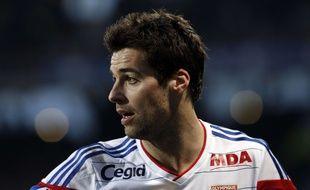 Yoann Gourcuff, l'ancien joueur de Lyon, le 22 février 2015 face à Nantes.