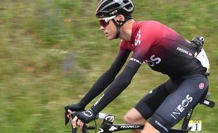 Chris Froome est dans «un état très sérieux» après une chute sur le Dauphiné, le 12 juin 2019.