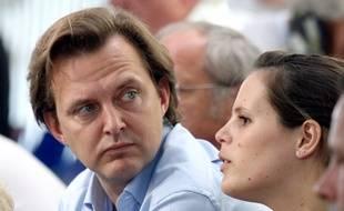 L'avocat Didier Poulmaire, ici en 2010 aux côtés de Laure Manaudou.