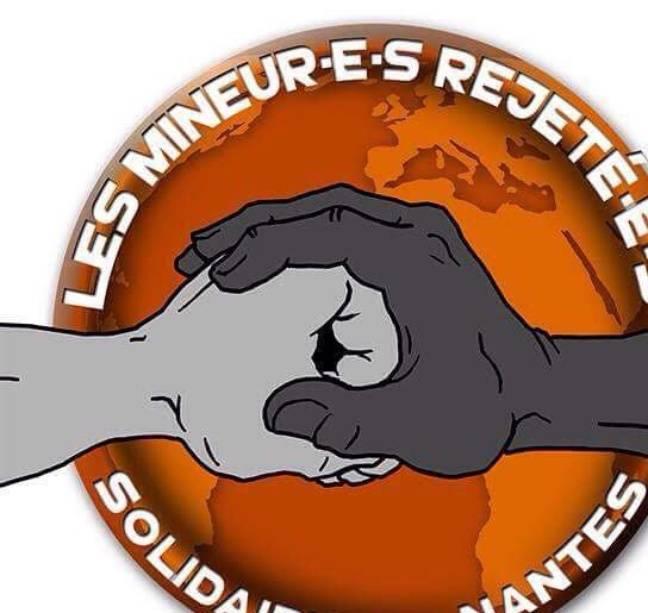 Le logo du groupe des migrants mineurs isolés à Nantes.