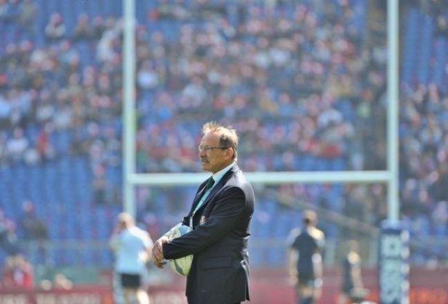 Jacques Brunel a entraîné pendant 5 ans l'équipe d'Italie.