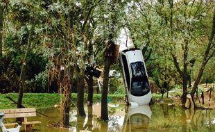 Des inondations, à Grabels, près de Montpellier (Archives)