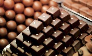 Des montagnes de chocolats...