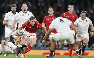 Le pays de Galles a dominé l'Angleterre le 26 septembre 2015.