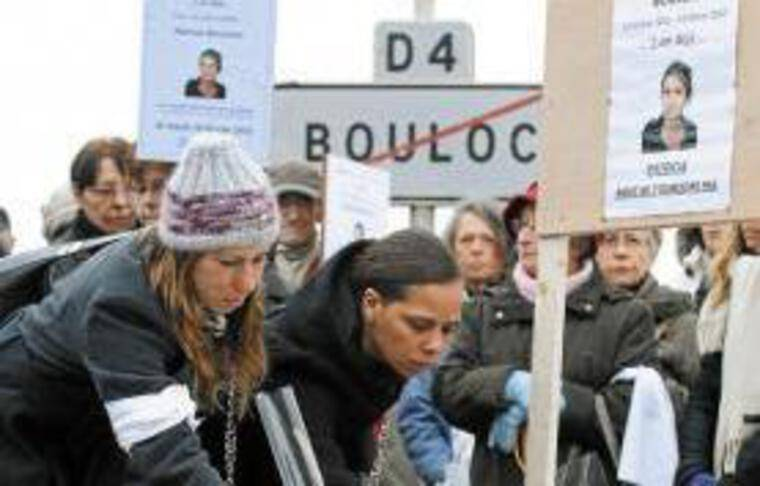 Une marche a été organisée le 14février, en mémoire de Patricia Bouchon.
