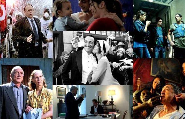 Les films nommés aux César 2012.