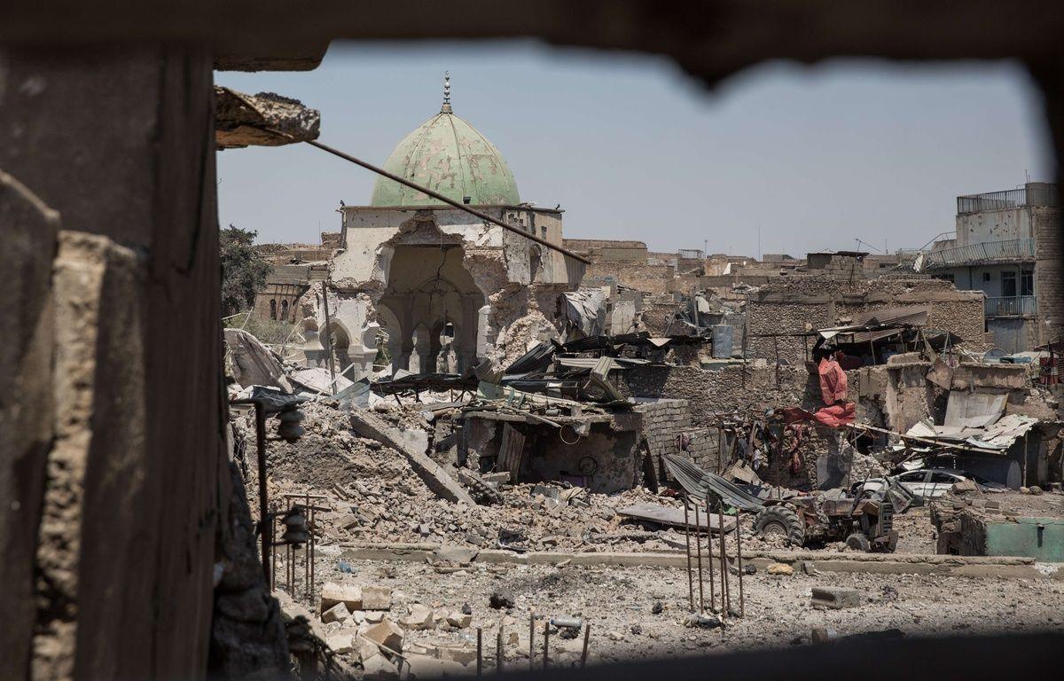 Mossoul Plan De La Vieille Ville