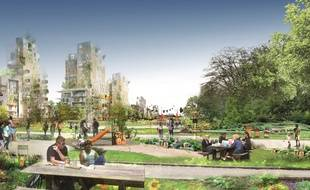 Visuel du projet «Central Park du Grand Paris»